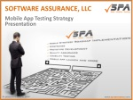 Mobile App Testing Strategy