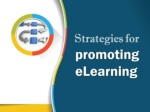 Strategies to Promote eLearning