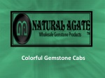 Colorful Gemstone Cabs