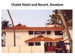 Book Chalet Hotel and Resort in Kovalgam