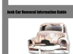 Junk Car Removal Information Guide
