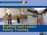Scaffold and Ladder Safety Training