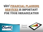 Alankit Group-Why Financial Planning services is Important f