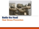 Battle the Heat! Heat Stress Prevention
