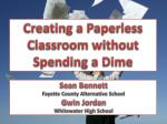 Creating a Paperless Classroom without Spending a Dime