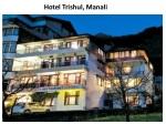 hotel, hotels, trishul, Manali, accommodation, reservation,