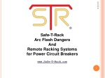 Safe-T-Rack Arc Flash Dangers And Remote Racking Systems for Power Circuit Breakers
