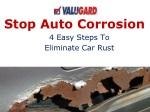 Stop Auto Corrosion