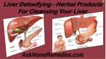 Liver Detoxifying - Herbal Products For Cleansing Your Liver