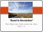 """ Road to Revolution """
