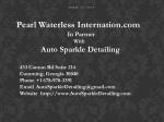 Auto Sparkle Detailing