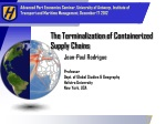 The Terminalization of Containerized Supply Chains