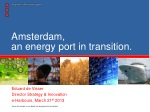 Amsterdam, an energy port in transition.