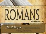 Romans 16:1-27