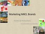 Marketing MKCL Brands