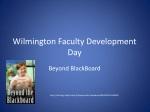 Wilmington Faculty Development Day
