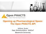 Opening up Pharmacological  Space:  The Open PHACTS API