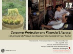 Presented at the 1 st International Islamic Financial Inclusion Summit Solo, July 18th, 2012