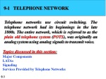 9-1 TELEPHONE NETWORK