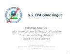 U.S. EPA Gone Rogue