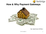 How & Why Payment Gateways