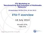ITU-T overview
