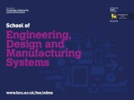 Parmjit S. Chima Head of School Engineering, Design & Manufacturing Systems