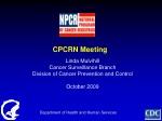 CPCRN Meeting