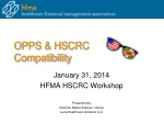 OPPS & HSCRC Compatibility
