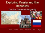 Exploring Russia and the Republics