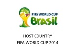 HOST COUNTRY  FIFA WORLD CUP 2014