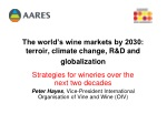 The world's wine markets by 2030: terroir, climate change, R&D and globalization
