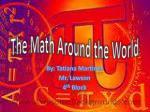 The Math Around the World