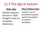 11.3 The Age of Jackson