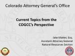 Colorado Attorney General's Office