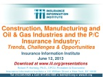 Insurance Information Institute June 12, 2013 Download at iii/presentations