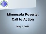 Minnesota Poverty: Call to Action May 1, 2014