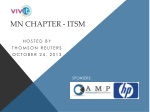 MN chapter - ITSM