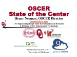 OSCER State of the Center