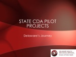 State CDA Pilot Projects