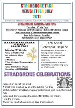 Thursday 19 th July 7pm Ravenscroft Resource Centre Bungalow ( Behind Stradbroke Shops)