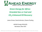 Green Energy for Africa: Stranded Gas or Coal and CO 2 -Enhanced Oil Recovery