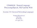 Pushpak Bhattacharyya CSE Dept.,  IIT  Bombay  14 th April, 2011