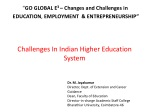 Challenges In Indian Higher Education System