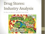 Drug Stores: Industry Analysis