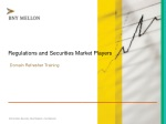Regulations and Securities Market Players