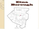 Etna Borough
