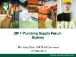 2014 Plumbing Supply Forum Sydney