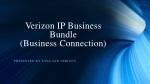 Verizon IP Business Bundle (Business Connection)