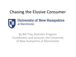 Chasing the Elusive Consumer